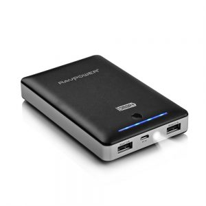 2 RAVPower® 3rd Gen Portable Power Bank