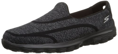 2 Skechers Performance Women's Go Walk 2 Super Sock 2 Slip-On Walking Shoe