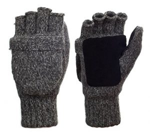 9. Metog Suede Thinsulate Thermal Insulation Mittens