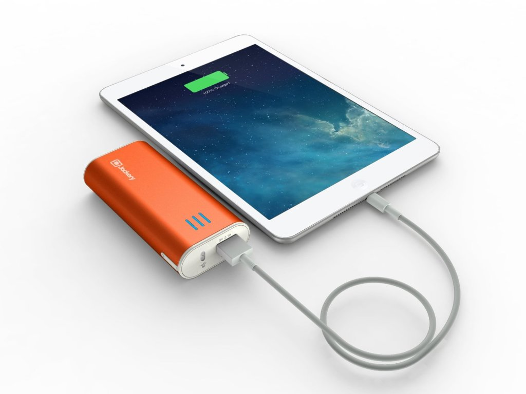 Portable Iphone Charger Battery Powered