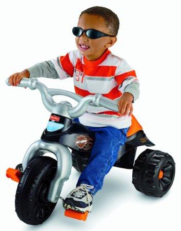 1. Fisher-Price Harley-Davidson Motorcycles Tough Trike