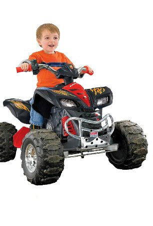 1. Power Wheels Hot Wheels Kawasaki KFX