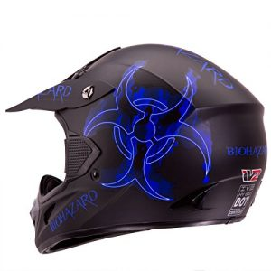 "1.IV2 ""BIOHAZARD"" Matte Black High Performance Motocross"