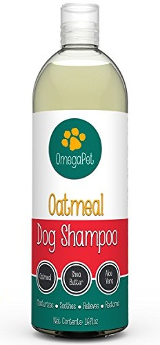10. Omega Pet Oatmeal Dog Shampoo