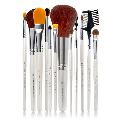 10. e.l.f. Cosmetics 12 Piece Brush Set