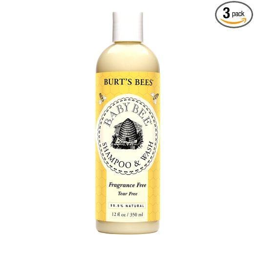 2. Burt's Bees Baby Bee Shampoo & Wash