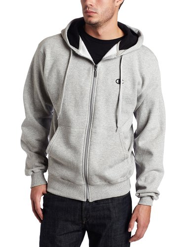 2. Champion Men's Full-zip Eco Fleece Hoodie Jacket