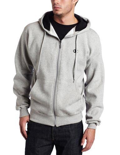 2. Champion Men's Full-zip Eco Fleece Hoodie Jacket
