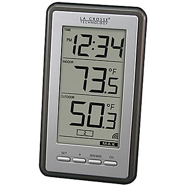 2. IndoorOutdoor Temperature WS-9160U-IT - La Crosse Technology Digital Weather Station