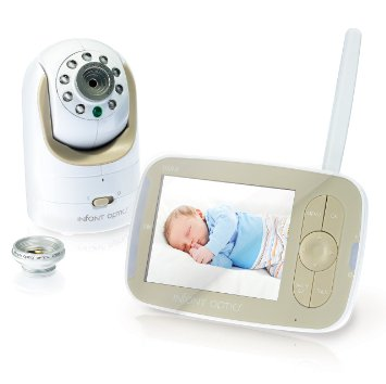 2. Infant Optics DXR-8 Video Baby Monitor With Interchangeable Optical Lens