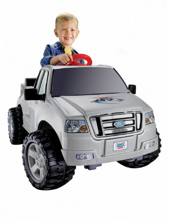 3. Fisher-Price Power Wheels Ford F150