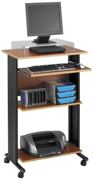 4. Safco's 1923CY Muv Stand-up Computer Workstation