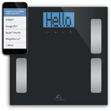 4. Weight Gurus Digital Body Fat Scale