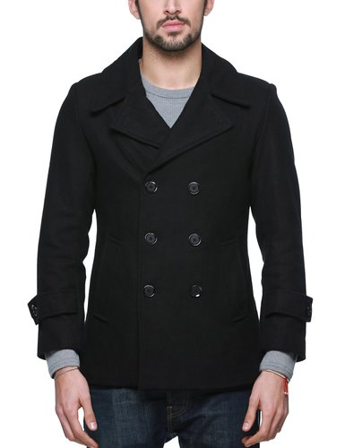5. Match Men's Wool Classic Winter Coat