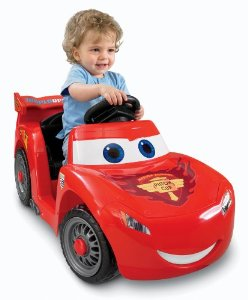 5. Power Wheels Disney Pixar Cars 2 Lil' Lightning McQueen