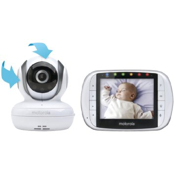 6. Motorola Digital Video Baby Monitor with Video 2.8 Inch Color Screen