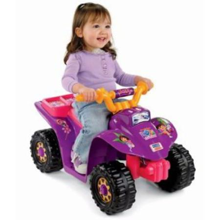 6. Power Wheels Dora Lil Quad