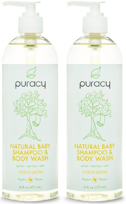 6. Puracy Natural Baby Shampoo & Body Wash