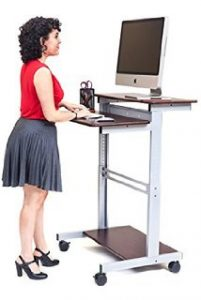 6. Standup-31.5-B Workstation by Luxor