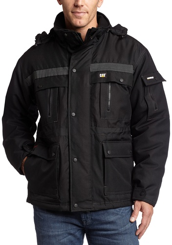 7. Caterpillar Men's Heavy Insulated Parka