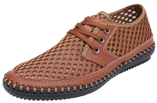 7. Mohem Men's Poseidon Mesh Walking Shoes