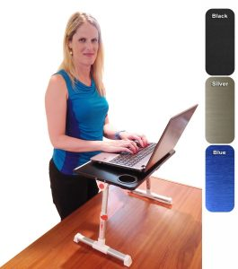 8. Stand Steady Traveler Folding Stand Up Desk