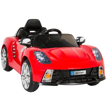 9. Best Choice Products Kids 12V Ride On Car