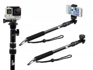 9. FloatPro 3-in-1 GoPro Selfie Stick