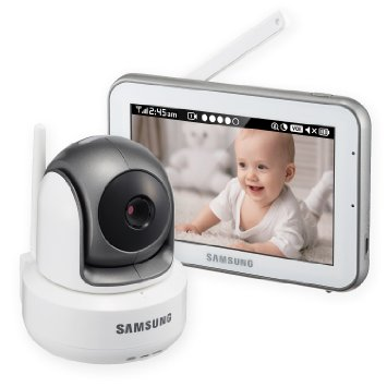 9. Samsung SEW-3043W BrightVIEW HD Baby Video Monitoring System IR Night Vision