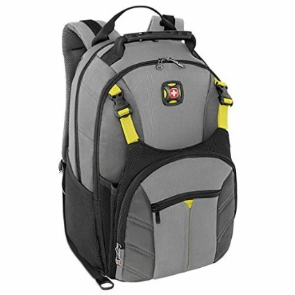 9. Swiss Gear Sherpa 16' Laptop Backpack Travel School Bag
