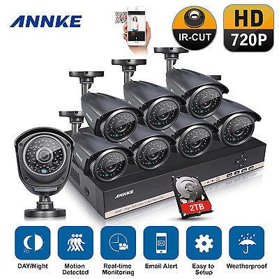 ANNKE 8CH 720P CCTV