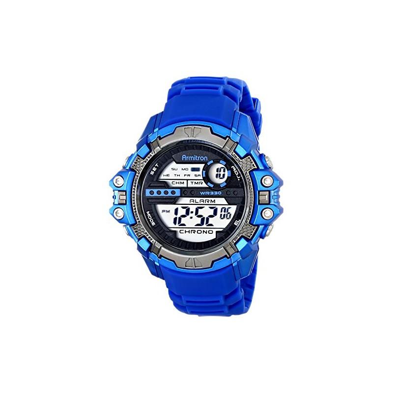 Armitron Sport Men's 408316BLU Fitness Watch