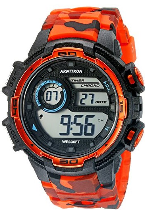 Armitron Sport Men's 408347COR Digital Chronograph