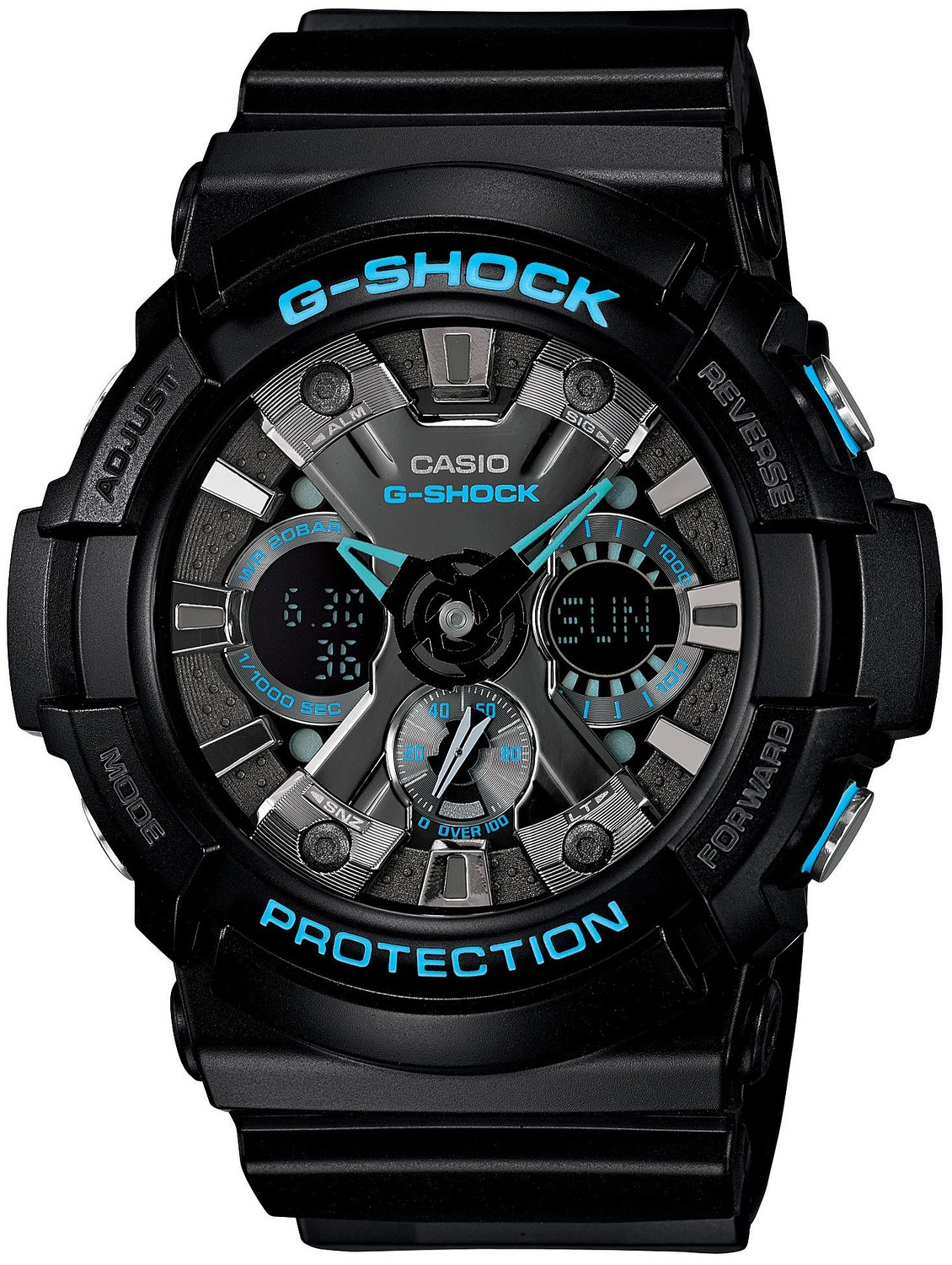 Casio Men's GA201-1 G-Shock Shock Resistant Sport Watch
