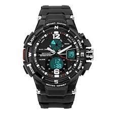 DEEBOL Dual Time Electronic Watches