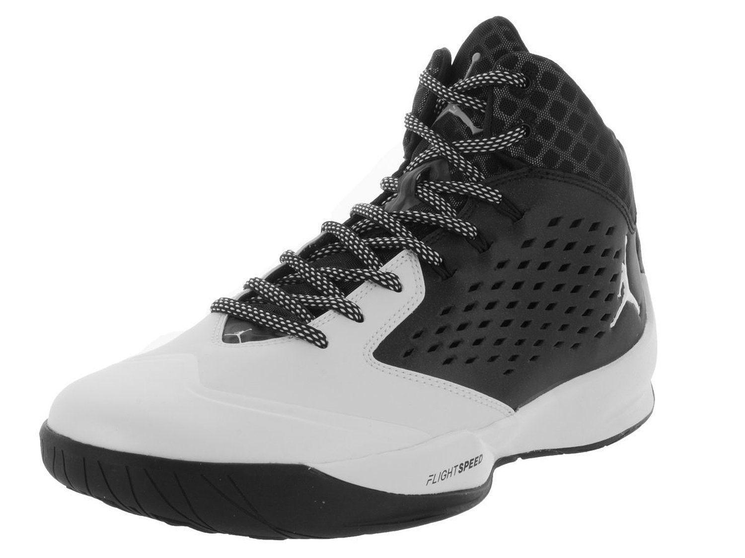 Jordan Rising High Men Round Toe Synthetic