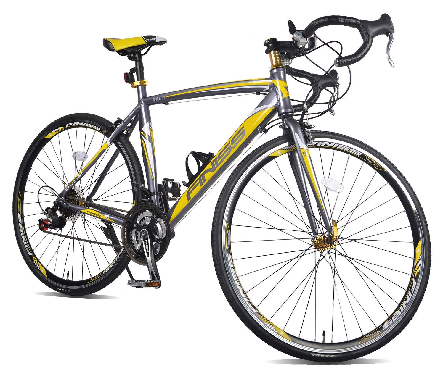 Merax Finiss Aluminum 21 Speed 700C Road Bike Racing