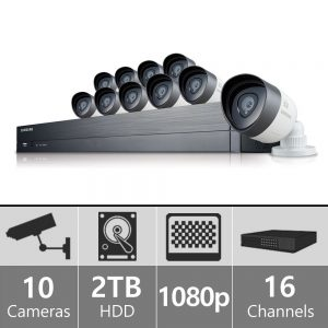 Samsung SDH-C75100 16 Channel 1080p HD 2TB Security System