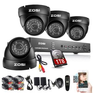 ZOSI 8CHCCTV Security Camera System