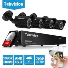 Tekvision 8CH 720P HD DVR Security Camera System