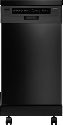 10. Frigidaire 18-inch Portable Dishwasher