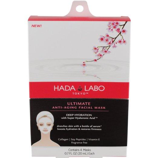 10. Hada Labo Tokyo Ultimate Anti-Aging Facial Mask