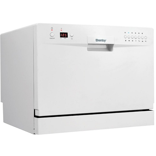 2. Danby DDW611WLED Countertop Dishwasher