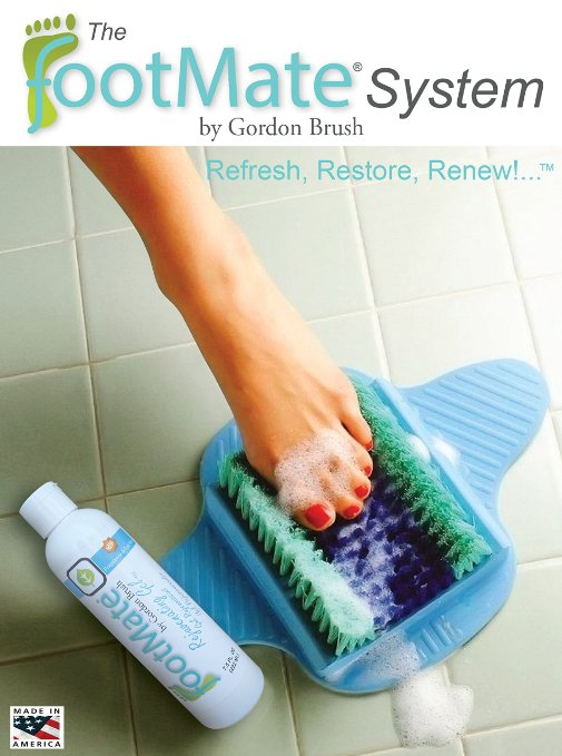 2. The FootMate System Foot Massager & Scrubber