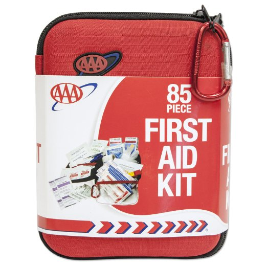 3. AAA 85 Piece Commuter First Aid Kit