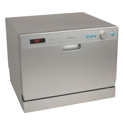 3. EdgeStar Countertop Portable Dishwasher