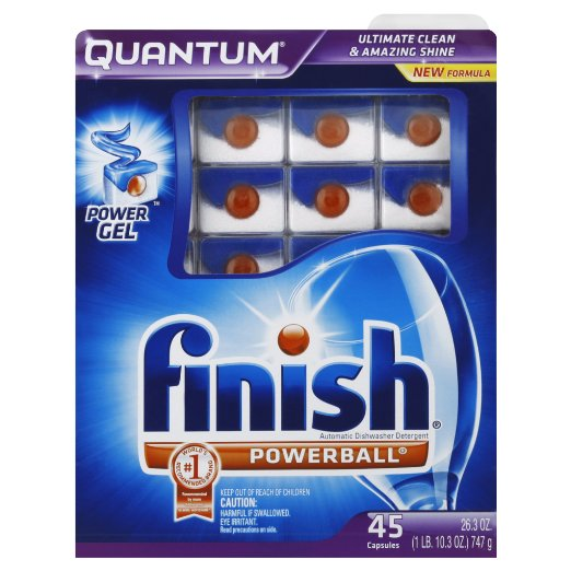 3. Finish Quantum Dishwasher Detergent