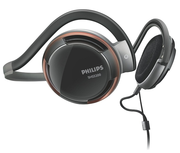 3. Philips Rich Bass Neckband Headphones SHS520028