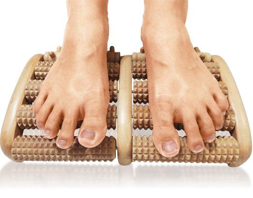 3. TheraFlow Dual Foot Massager Roller