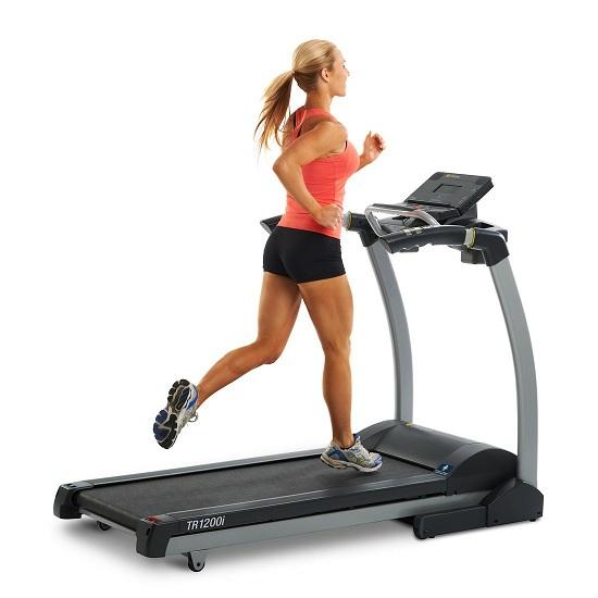 4. LifeSpan TR1200i Folding Treadmill